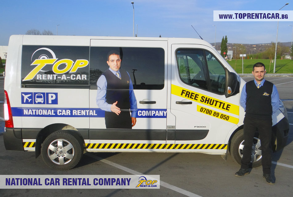 transfer with shuttle bus from Top Rent A Car