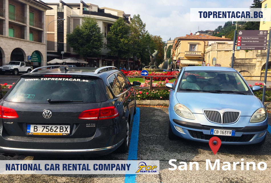 Top Rent A Car - Сан Марино