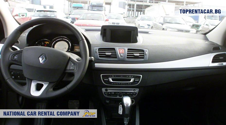 Renault Megane - inside view