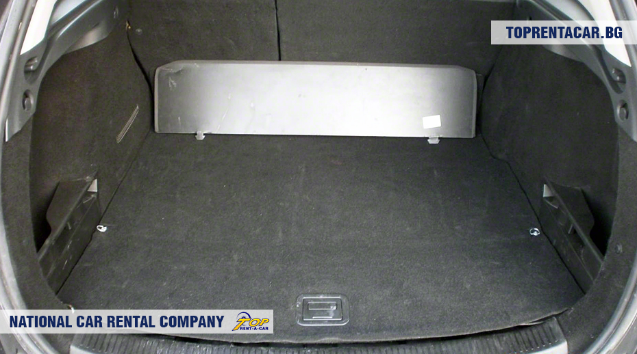Renault Megane - багажник