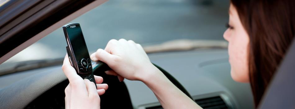 Какво разсейва шофьорите на пътя?