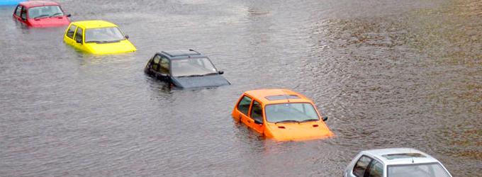 Как да шофирате при наводнение?