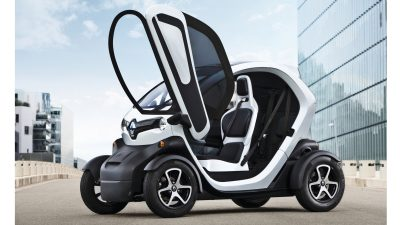 Renault Twizy with open doors