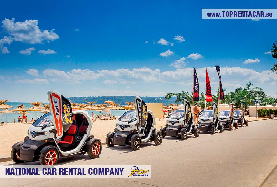 Renault Twizy EV location Varna