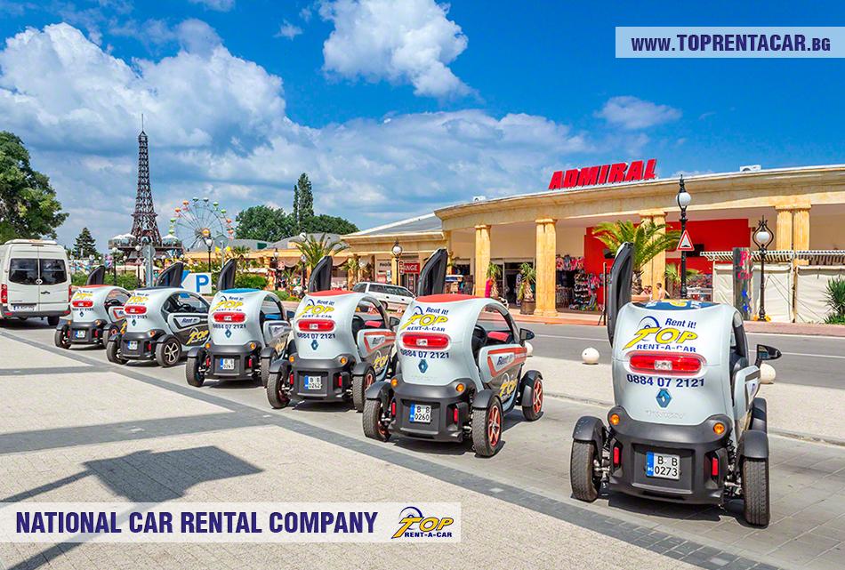 Renault Twizy EV wynajem Warna