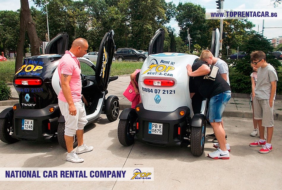 EV rental from Top Rent A Car