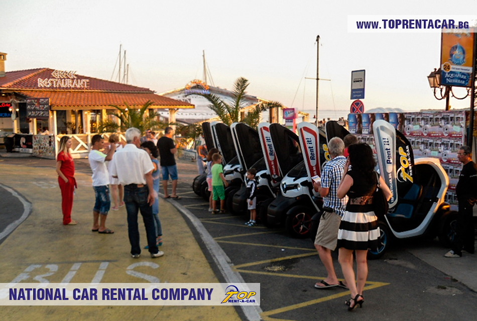 Electric vehicle rentals