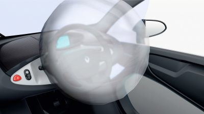 Renault Twizy - safety airbag