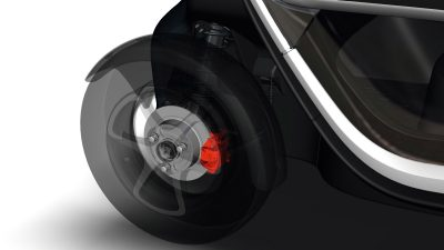 Renault Twizy - safety brakes