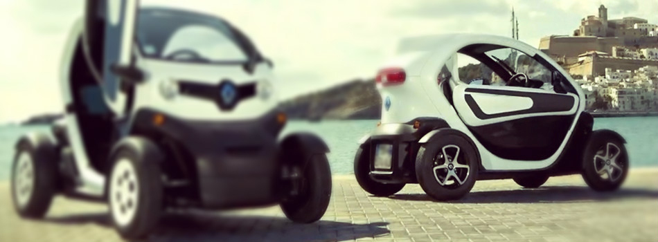 Summer vacation with Renault Twizy