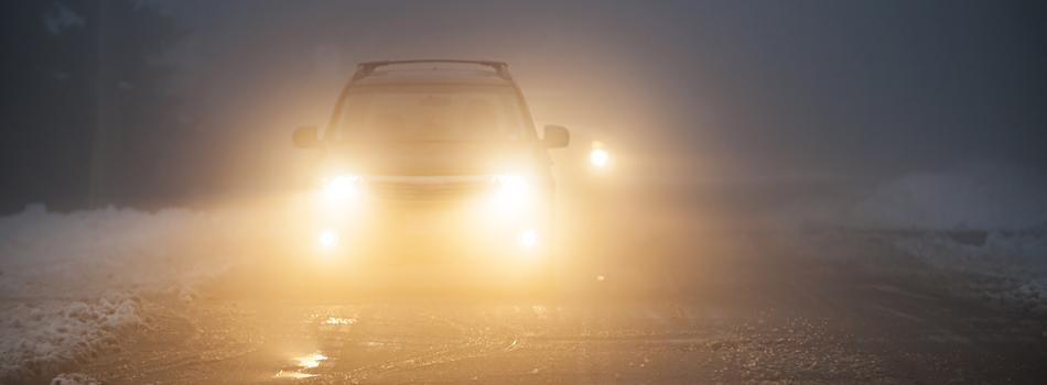 Кога се използват светлините за мъгла?