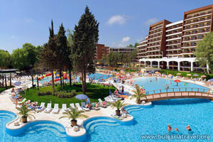 Хотелски комплекс в Албена