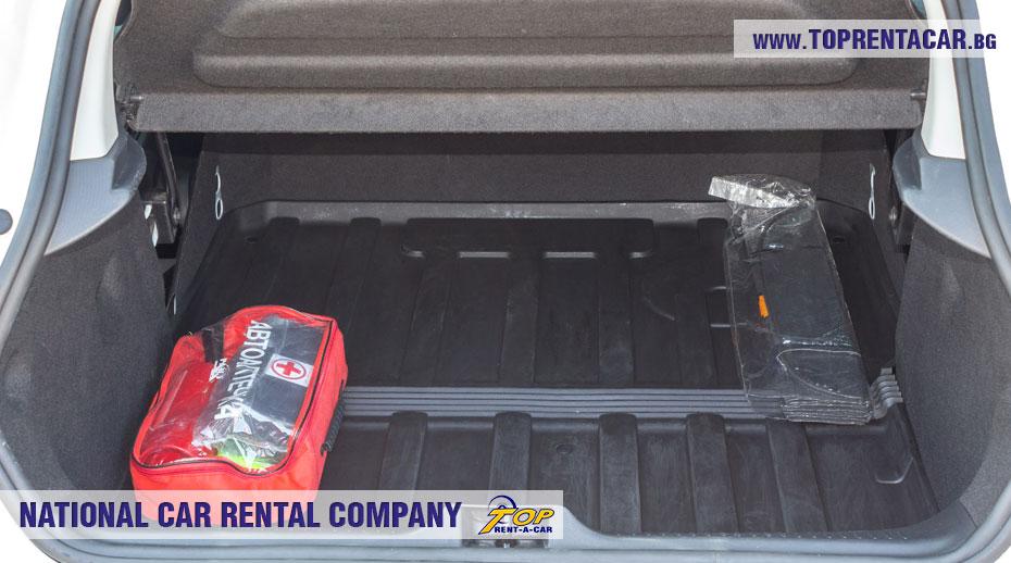 Renault Clio IV Cargo - изглед багажник