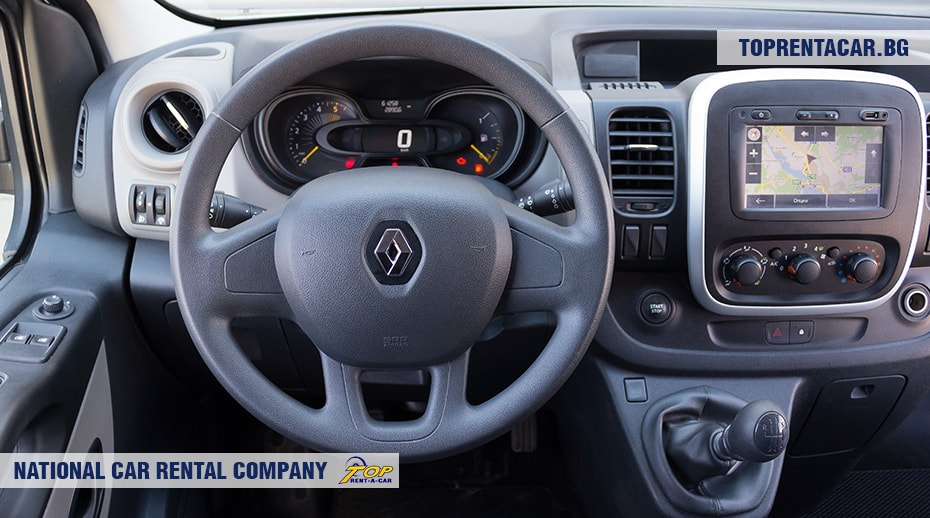 Renault Trafic from Top Rent A Car