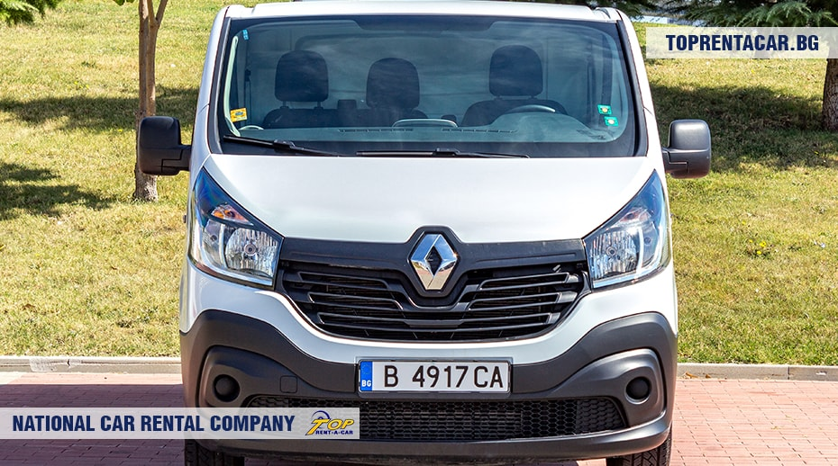 Renault Trafic - изглед отпред