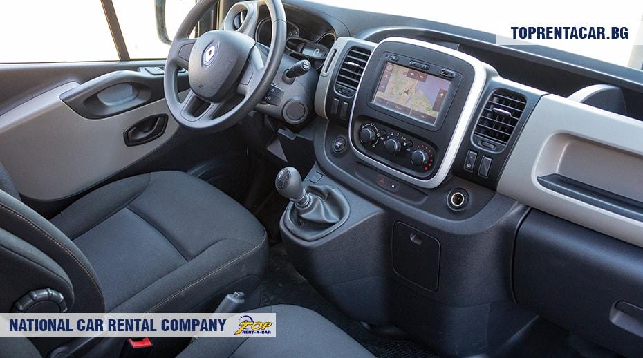 Renault Trafic - изглед отвътре