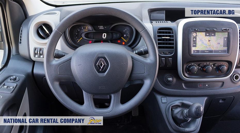 Renault Trafic - изглед отвътре 2