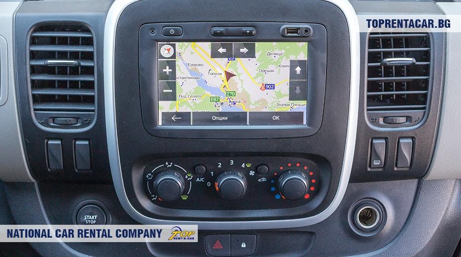 Renault Trafic - изглед отвътре 3