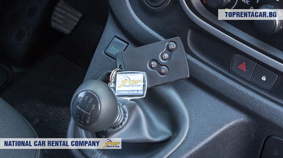 Renault Trafic - изглед отвътре 4