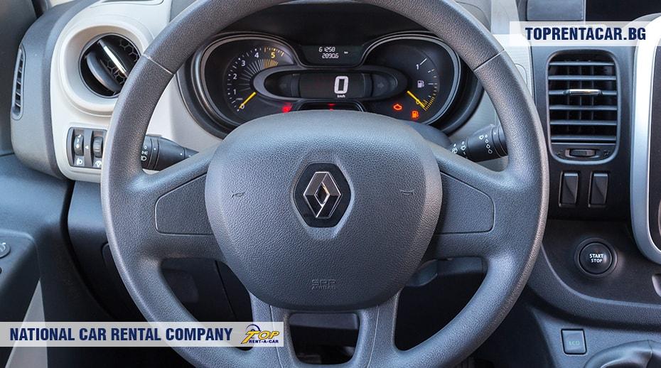 Renault Trafic - изглед отвътре 5