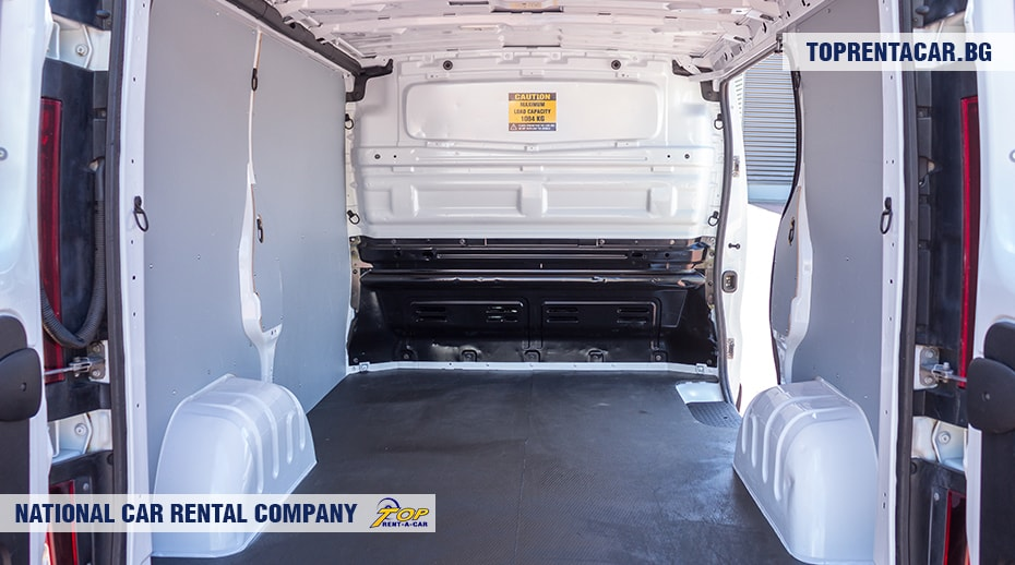 Renault Trafic - cargo compartment