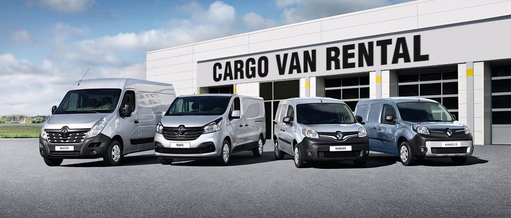 Renault cargo van  rental classes