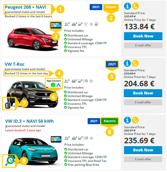 The promise of Top Rent A Car