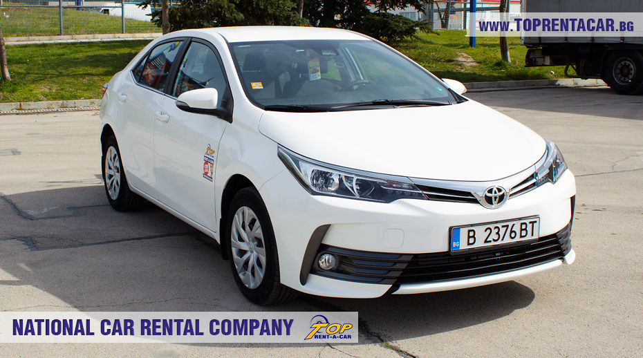 Toyota Corolla 2018 aut. - front