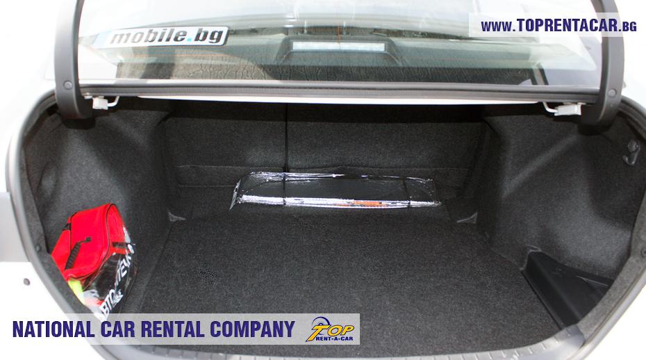 Toyota Corolla 2018 aut. - trunk