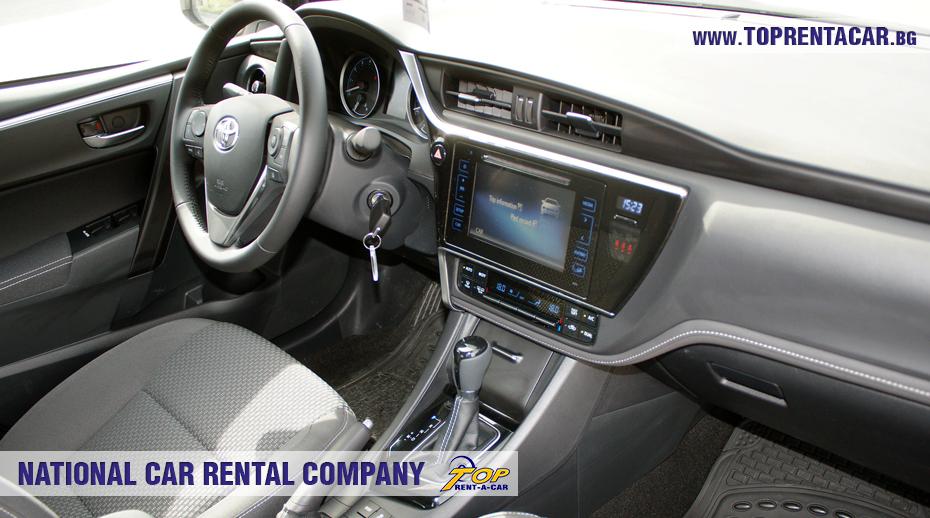 Toyota Corolla 2018 - trunk