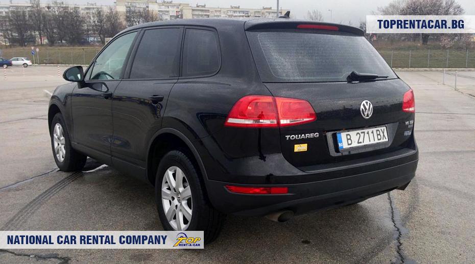 VW Touareg - изглед отзад