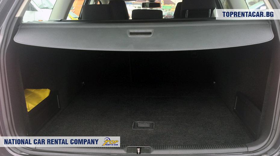 VW Passat комби багажник