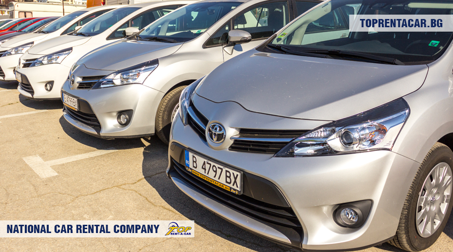 Toyota Verso от Top Rent A Car