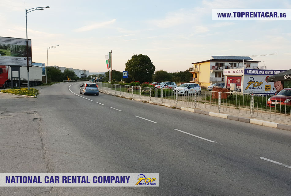 Top Rent A Car - office Obzor