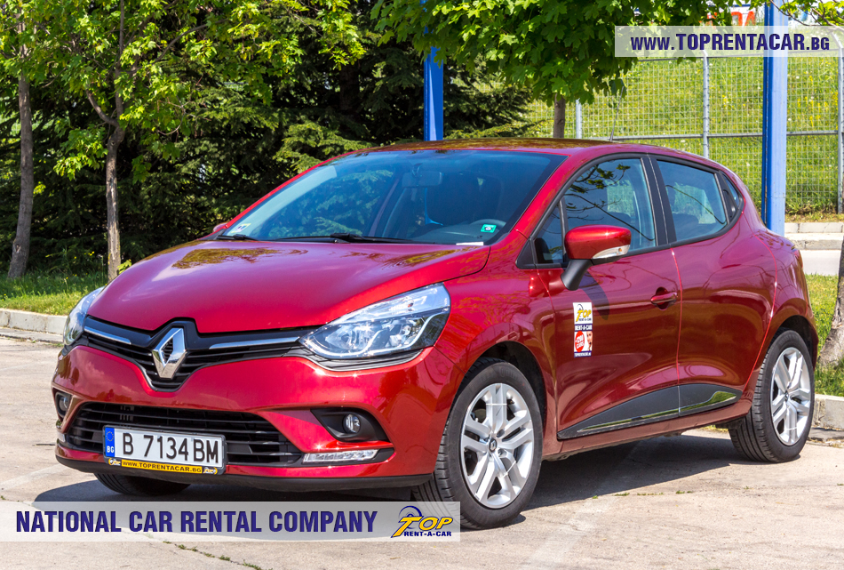 Renault Clio IV TCe - front