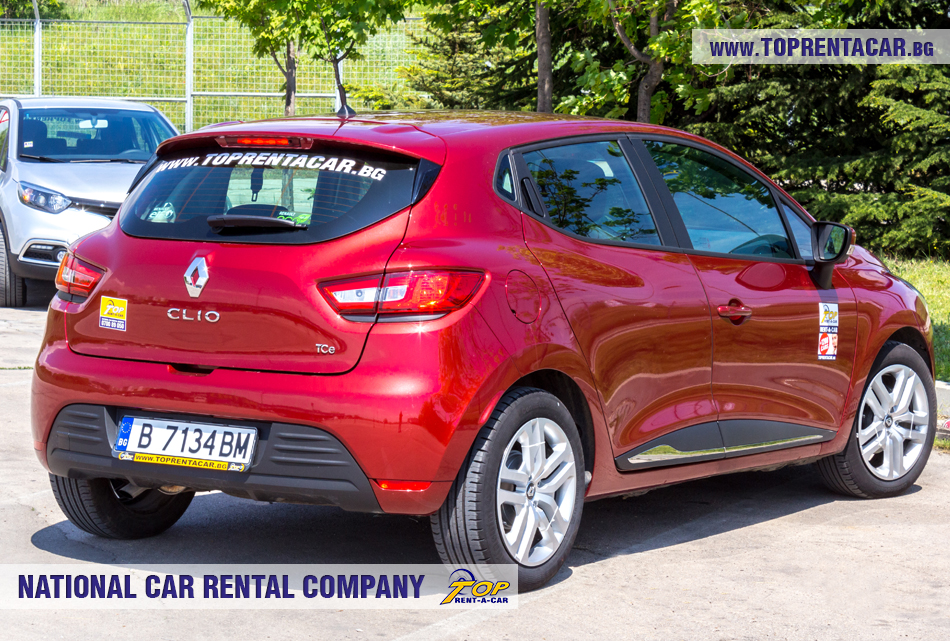 Renault Clio IV TCe - изглед отзад