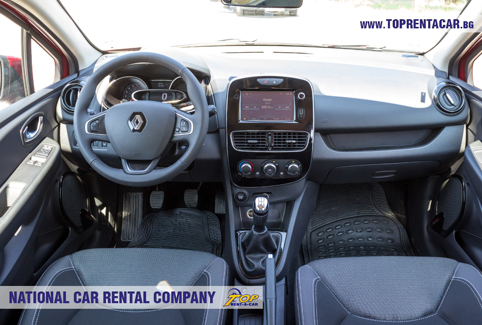 Renault Clio IV TCe - inside