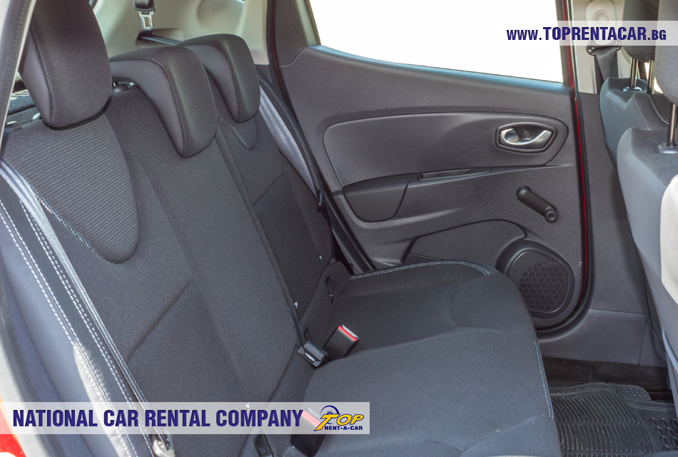 Renault Clio IV TCe - backseat