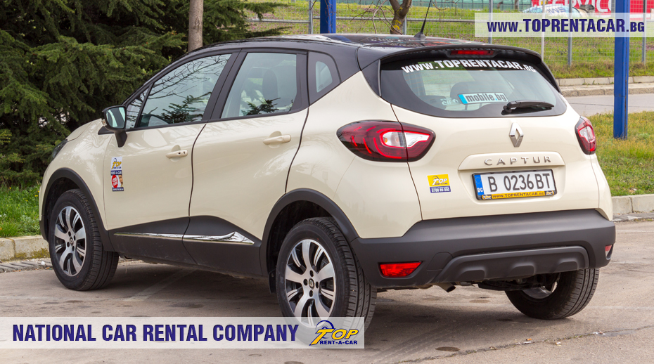 Renault Captur from Top Rent A Car