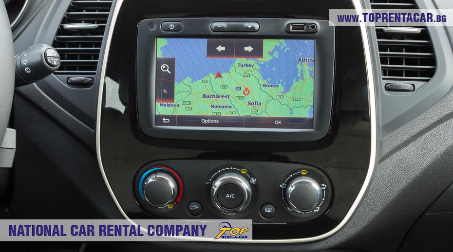 Renault Captur 2018  - навигация