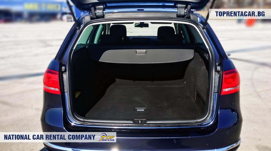 VW Passat estate - trunk