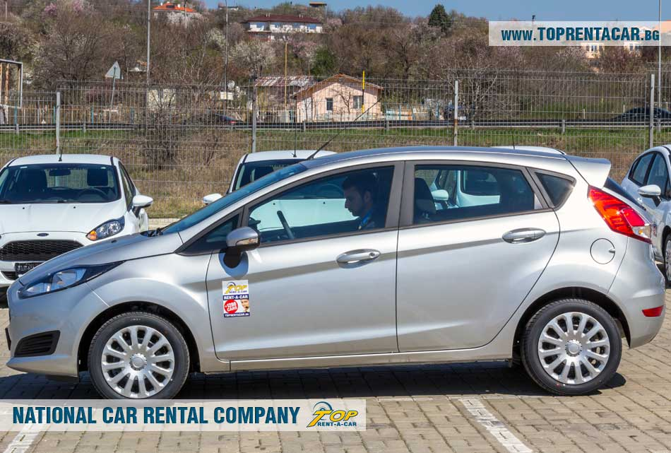 Ford Fiesta EcoBoost от Top Rent A Car