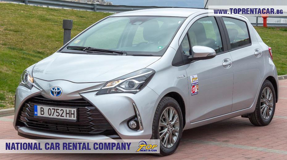 Toyota Yaris Hybrid  - front
