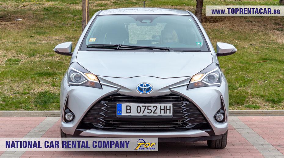 Toyota Yaris Hybrid  - отпред