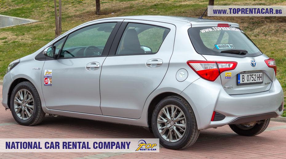 Toyota Yaris Hybrid  - Inside