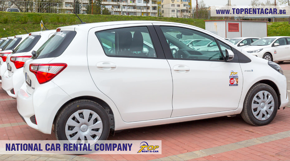 Toyota Yaris Hybrid 2018 from Top Rent A Car