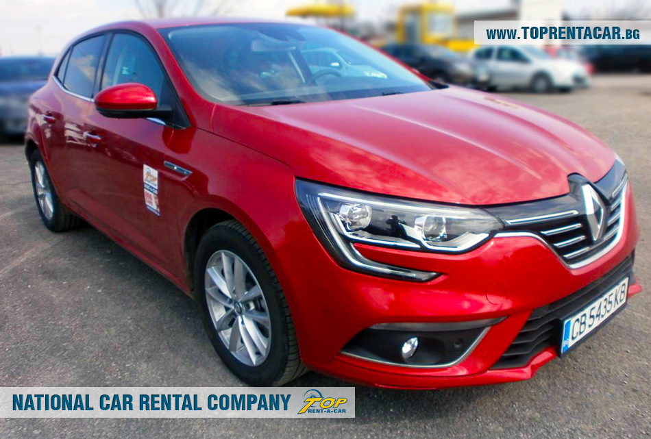 Renault Megane car rental | Top Rent A Car