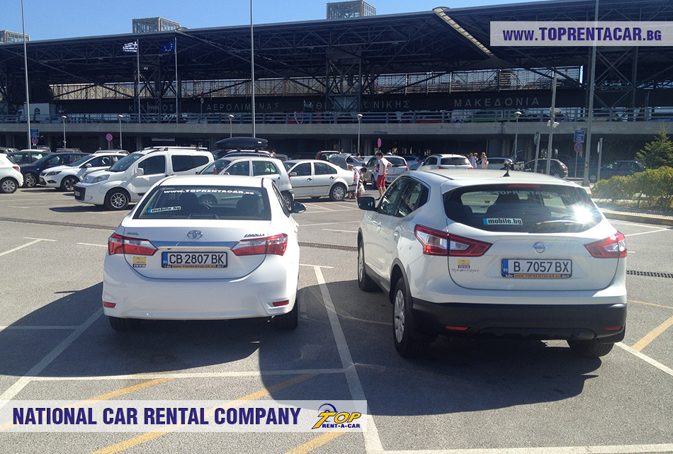 Car hire in Thessaloniki from Top Rent A Car