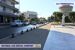 Rent a car in Thessaloniki