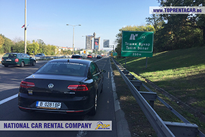 Rent a car in Serbia